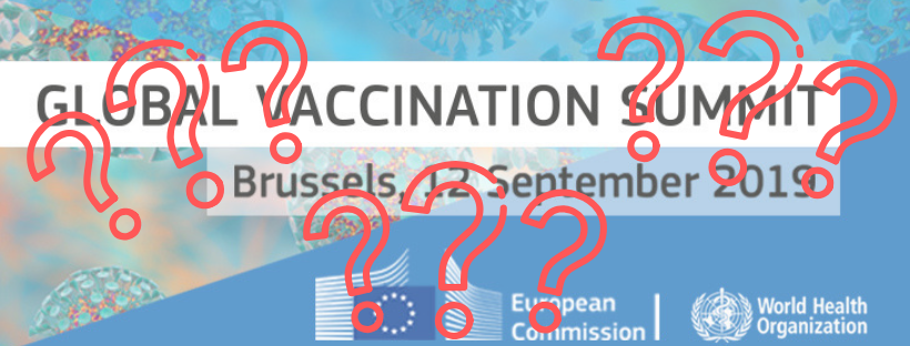Open Letter: Global Vaccination Summit 2019