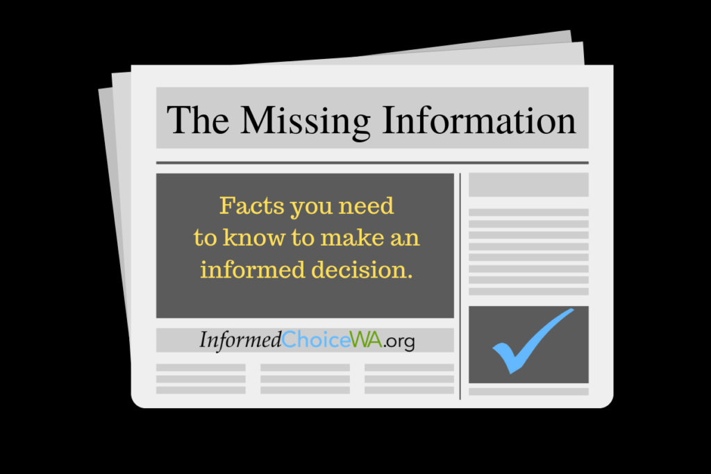CDC Webinar Misinforms about Missing Information