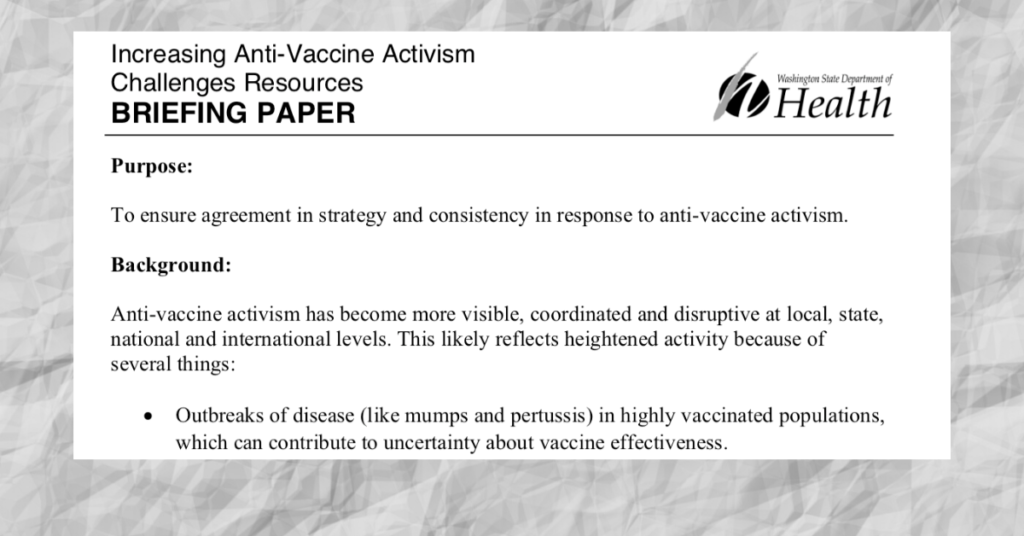Taxpayer Dollars Spent Fighting Vaccine Safety Advocacy