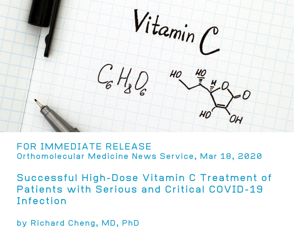 UPDATE: Successful High-Dose Vitamin C Treatment COVID-19