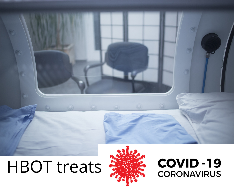 BREAKING NEWS: HYPERBARIC OXYGEN THERAPY for COVID-19