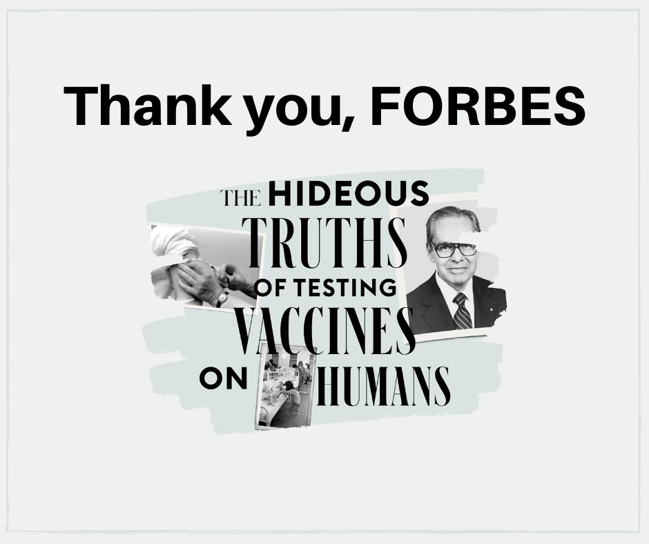 Thank you, FORBES