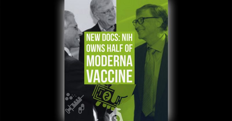 New Docs: NIH Owns Half of Moderna Vaccine