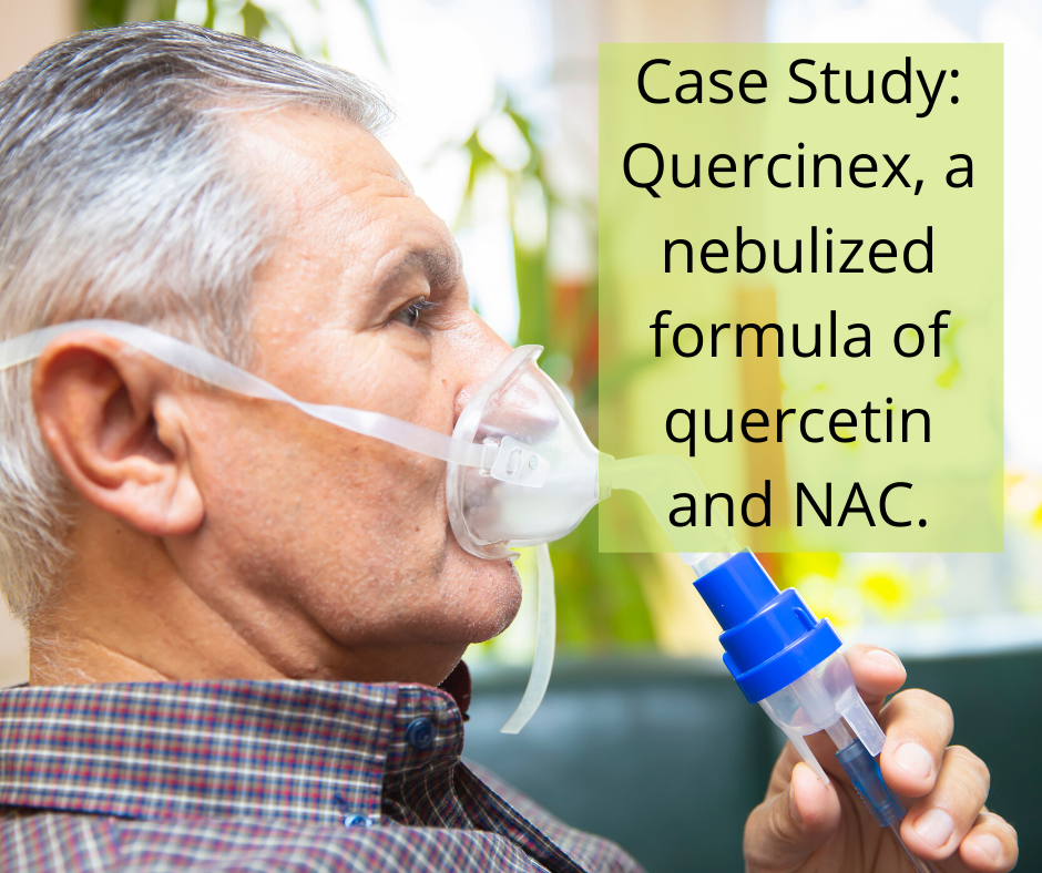A Case Study: Nebulized Quercetin-NAC Successful with COVID19 Patient
